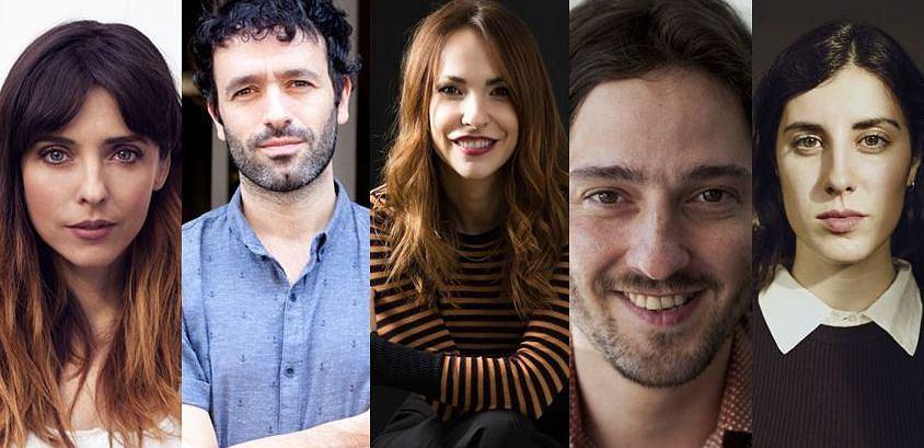 Leticia Dolera, Rodrigo Sorogoyen, Paula Ortiz, Carlos Marqués-Marcet i Elena Martin