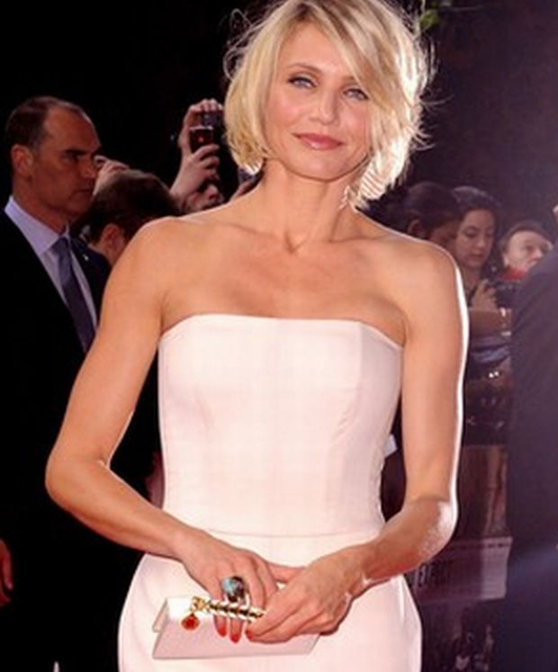 (1717900f)  Cameron Diaz  'What To Expect When You're Expecting' Film Premiere, London, Britain - 22 May 2012