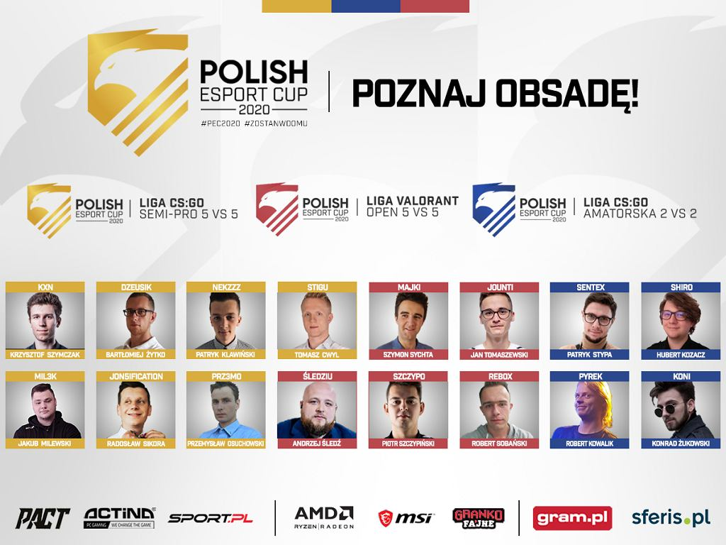 POLISH ESPORT CUP 2020 startuje już 11 maja