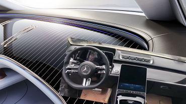Wnętrze Mercedesa klasy S (W223)