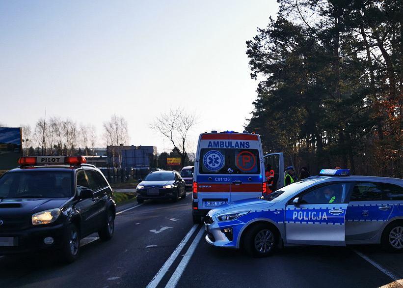 Wypadek w Brodnicy