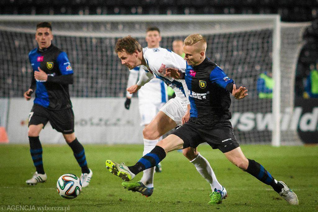 Zawisza Bydgoszcz - Lech Poznań 1:0. Kasper Hamalainen i Bartłomiej Pawłowski