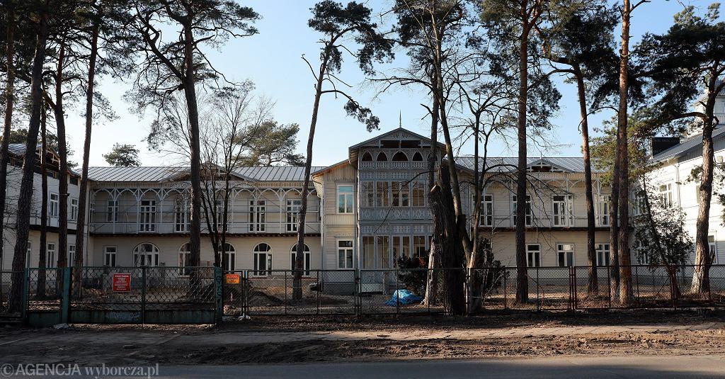 Sanatorium Abrama Gurewicza w Otwocku
