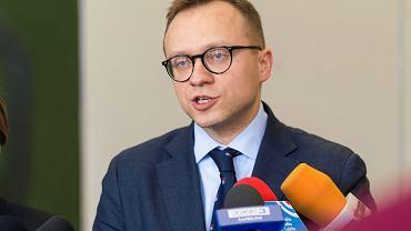 Wiceminister aktywów państwowych Artur Soboń
