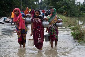 Indie, Nepal i Bangladesz. Miliony ludzi uciekło z domów w wyniku monsunowych ulew