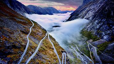 Droga Trolstigen Norwegia
