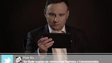 """""""Mean Tweet"""" Andrzeja Dudy"""