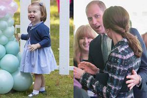 Księżniczka Charlotte, księżna Kate i książę William