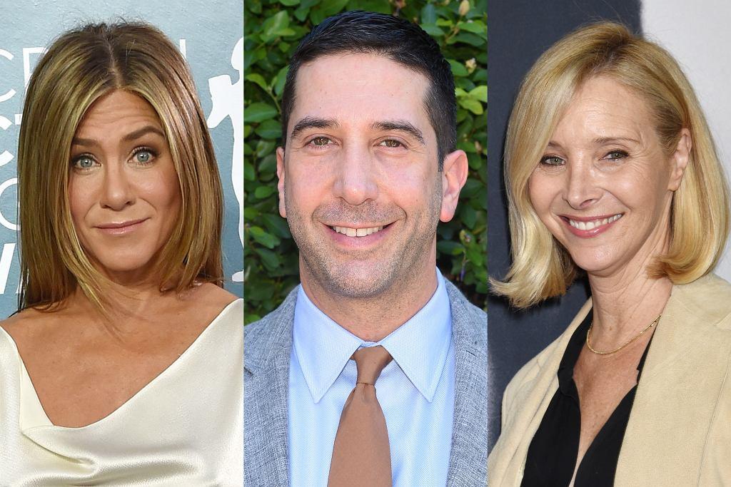 Jennifer Aniston, David Schwimmer, Lisa Kudrow