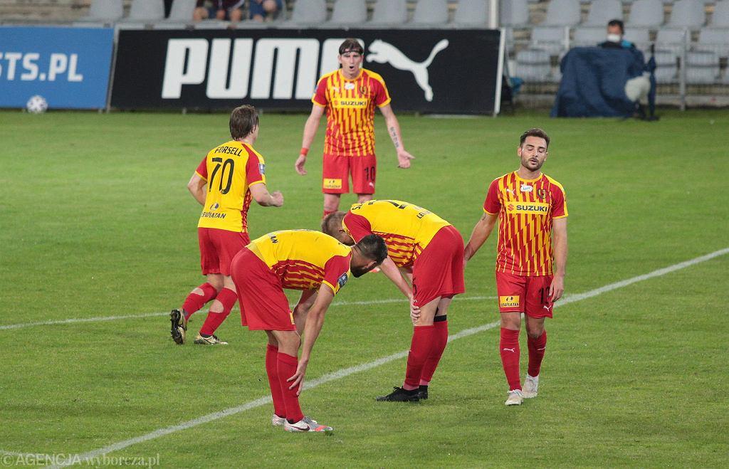 Załamanie i smutek piłkarzy Korony Kielce