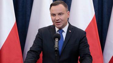 Oświadczenie prezydenta Andrzeja Dudy ws. nowelizacji ustawy o IPN