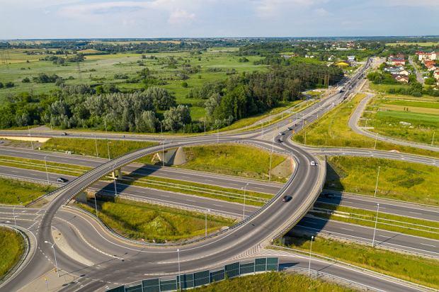 Węzeł Lublin Tatary droga DK82