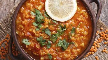 Rozgrzewająca zupa soczewicowa