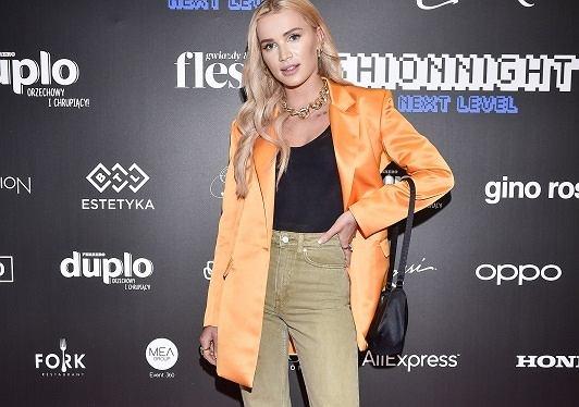 AliExpress na FFN 2019, Flesz Fashion Night 2019, wrzesień 2019, Julia Kuczyńska