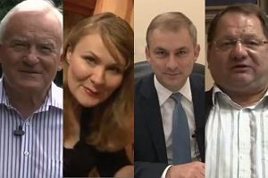 Leszek Miller, Katarzyna Piekarska, Grzegorz Napieralski i Ryszard Kalisz.