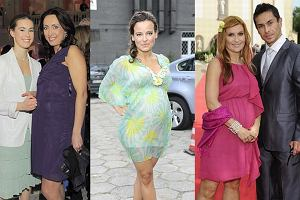 Anna Kalczyńska , Anna Mucha, Katarzyna Skrzynecka - wszystkie są w ciąży.
