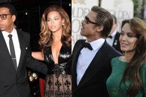 Beyonce Knowles, Jay-Z, Angelina Jolie i Brad Pitt.