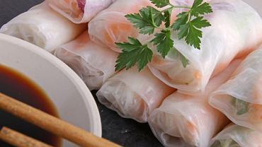 Fresh rolls - roladki z papieru ryżowego