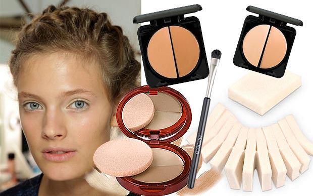 Modelowanie kształtu nosa za pomocą makijażu