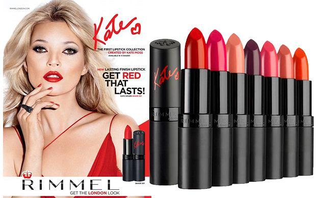 Kate Moss dla marki Rimmel