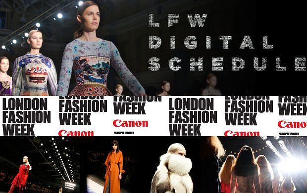 London Fashion Week 09.2011 - plan pokazów