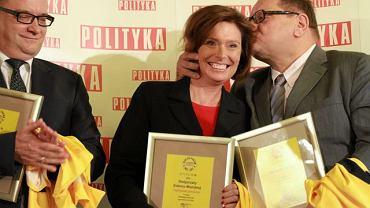 Nagrodzeni: Marek Biernacki, Małgorzata Kidawa-Błońska, Ryszard Kalisz
