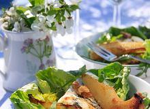 Sałata z rukoli z karmelizowanymi gruszkami - ugotuj