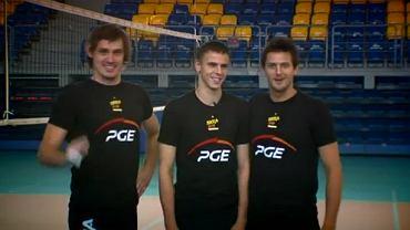 Daniel Pliński, Mariusz Wlazły i Michał Winiarski