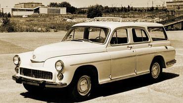 FSO Warszawa furgon