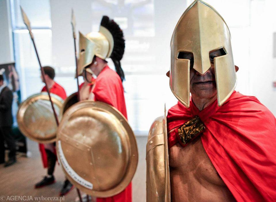 Spartanie pobiegną w Maratonie Warszawskim