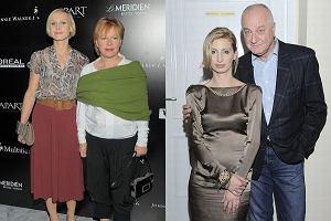 Magdalena Schejbal z ojcem i Paulina Holtz z mamą
