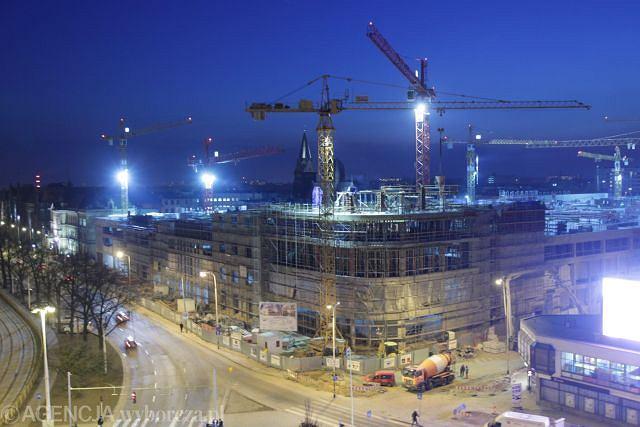 Luty 2011 r. Budowa Galerii Kaskada