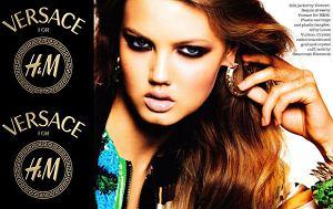 Lindsey Wixson, Elle Uk, Versace dla H&M