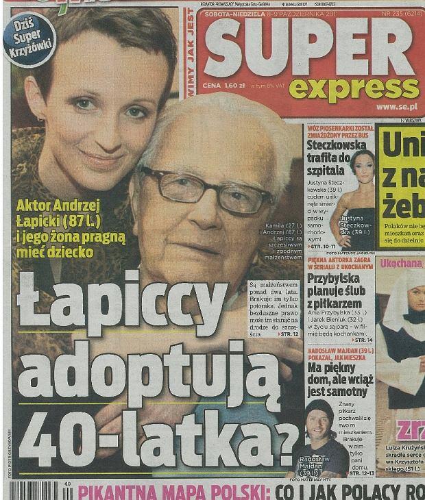 Andrzej i Kamila Łapiccy