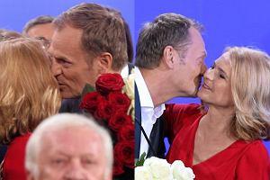 Niedzielny wieczór wyborczy należał do Donalda Tuska. Premier świętował wygraną w wyborach parlamentarnych. Wygrana tak go uradowała, że wycałował żonę za wsze czasy. Małgorzata Tusk nawet się nie broniła. A wyglądało to tak.