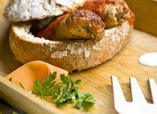 Zraziki w chlebie cebulowym z kaszą gryczaną - ugotuj