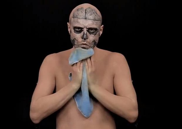 Zombie Boy w reklamie Vichy