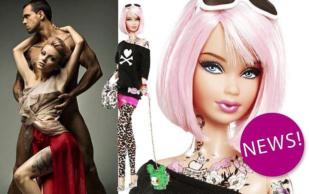 Wytatuowana Barbie