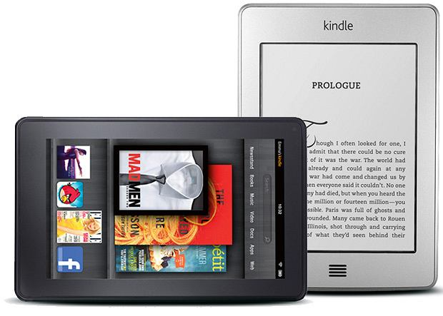 Kindle Fire i Touch