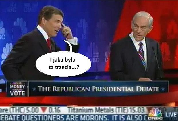 Wpadka Ricka Perry'ego.
