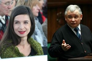 Marta Kaczyńska, Jarosław Kaczyński.