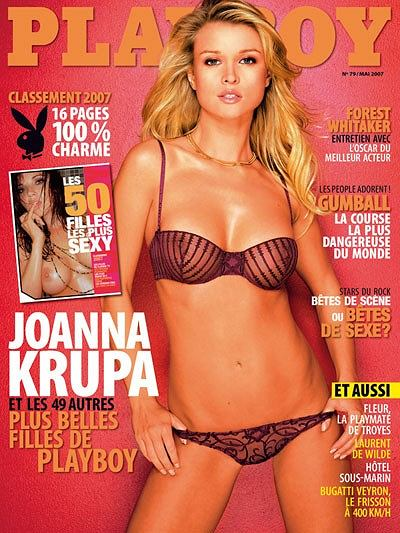 Joanna Krupa - rozbierana okładka w Playboyu