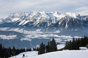 Narty. Alpy Austriackie