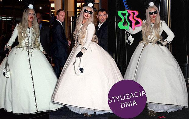 Lady Gaga w sukni Chanel