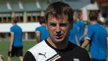 Dyrektor sportowy Lecha Poznań Andrzej Dawidziuk