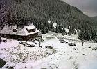 Góry zimą - bieganie w śniegu