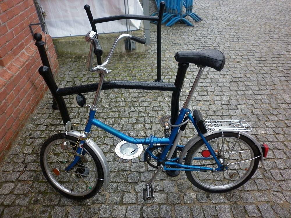Radziecki rower marki MMW 3