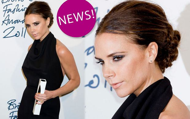 Victoria Beckham na British Fashion Awards 2011