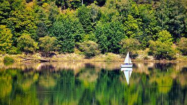Mazury, Wielkie Jeziora Mazurskie, żagle
