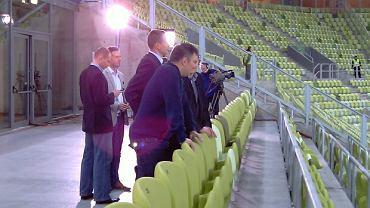 Dariusz Michalczewski oglądał losowanie na PGE Arenie